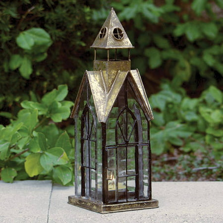 Image of House Architectural Candle Lantern - Hampton House Tealight Holder