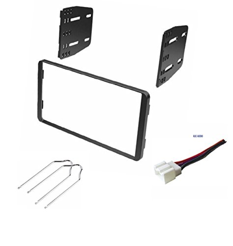 Car Stereo Dash Kit, Wire Harness, and Radio Tool for Installing a Double Din Radio for some 1998-2008 Ford Econoline, 1999-2003 Ford F-150, 1999-2004 Ford F-250/350, 1998-2012 Ford Ranger