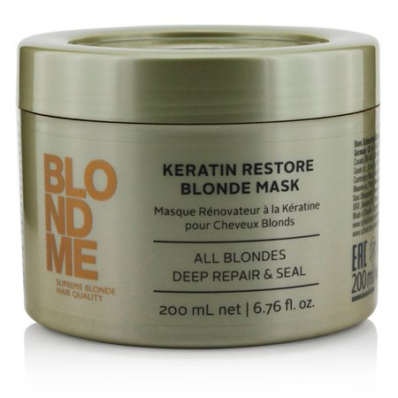 Schwarzkopf Blondme Keratin Restore Blonde Mask (All Blondes Deep Repair & Seal)