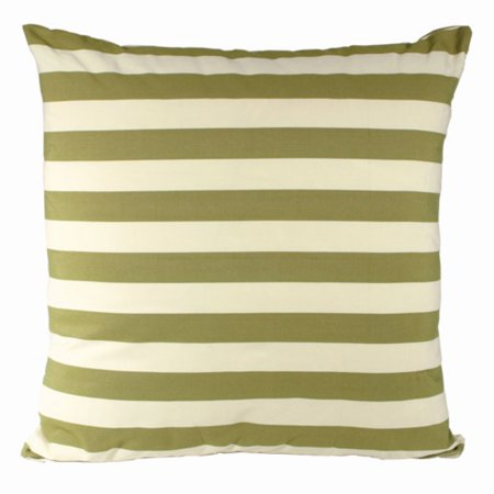 Magnolia Needlepoint Pillow (Magnolia Casual 24 x 24 Summer Palms Stripe Euro Pillow )