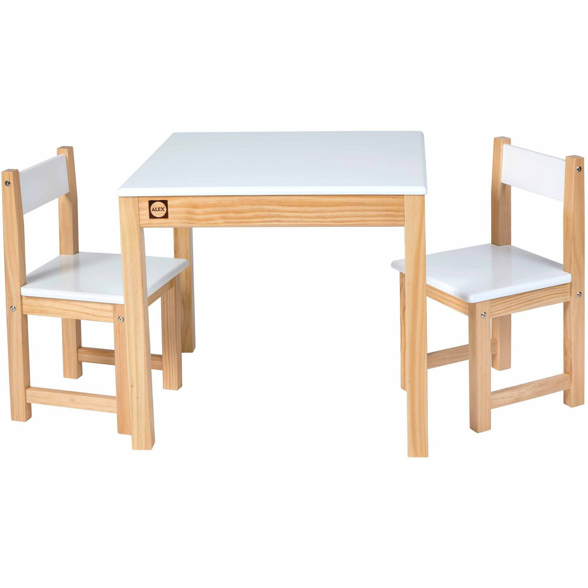ALEX Toys Artist Studio Wooden Table and Chair Set, Multiple Colors