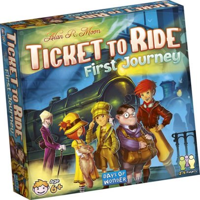 First Electronic Game (Ticket to Ride First Journey Board Game)