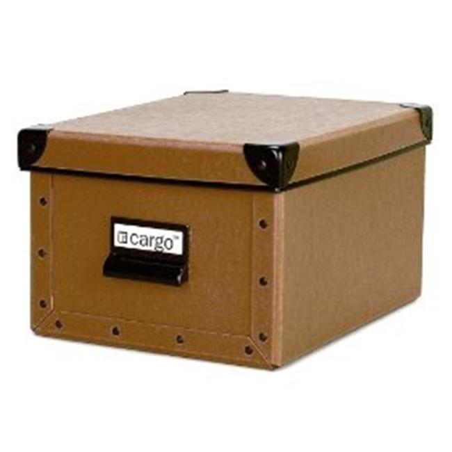 Resource International 8030421 Cargo Naturals Media Box- Nutmeg