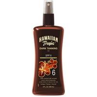 Hawaiian Tropic Dark Tanning Oil, Spray Pump, SPF 6 8 oz