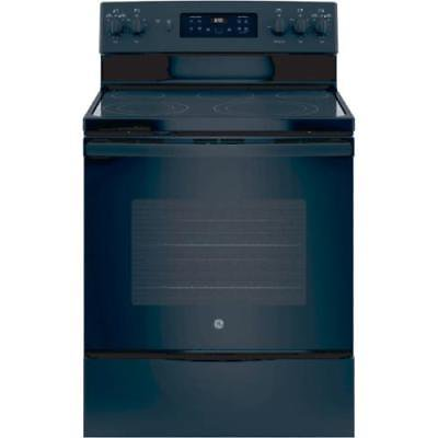 GE 30 Free-Standing Electric Convection Range Black
