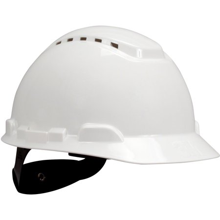3M, MMMH701V, H700 Series Ratchet Suspension Hard Hat, 1 Each, White