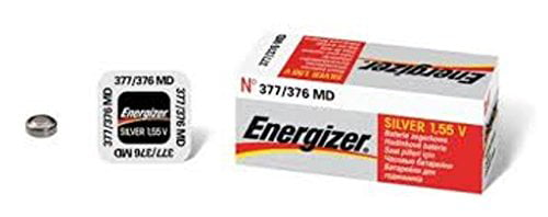 Energizer 377-376 BUTTON CELL BATTERY 376 OXIDE by Energizer Holdings Inc.