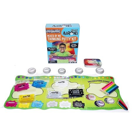 Mixed by Me Holographic Thinking Putty Kit by Crazy Aarons Putty
