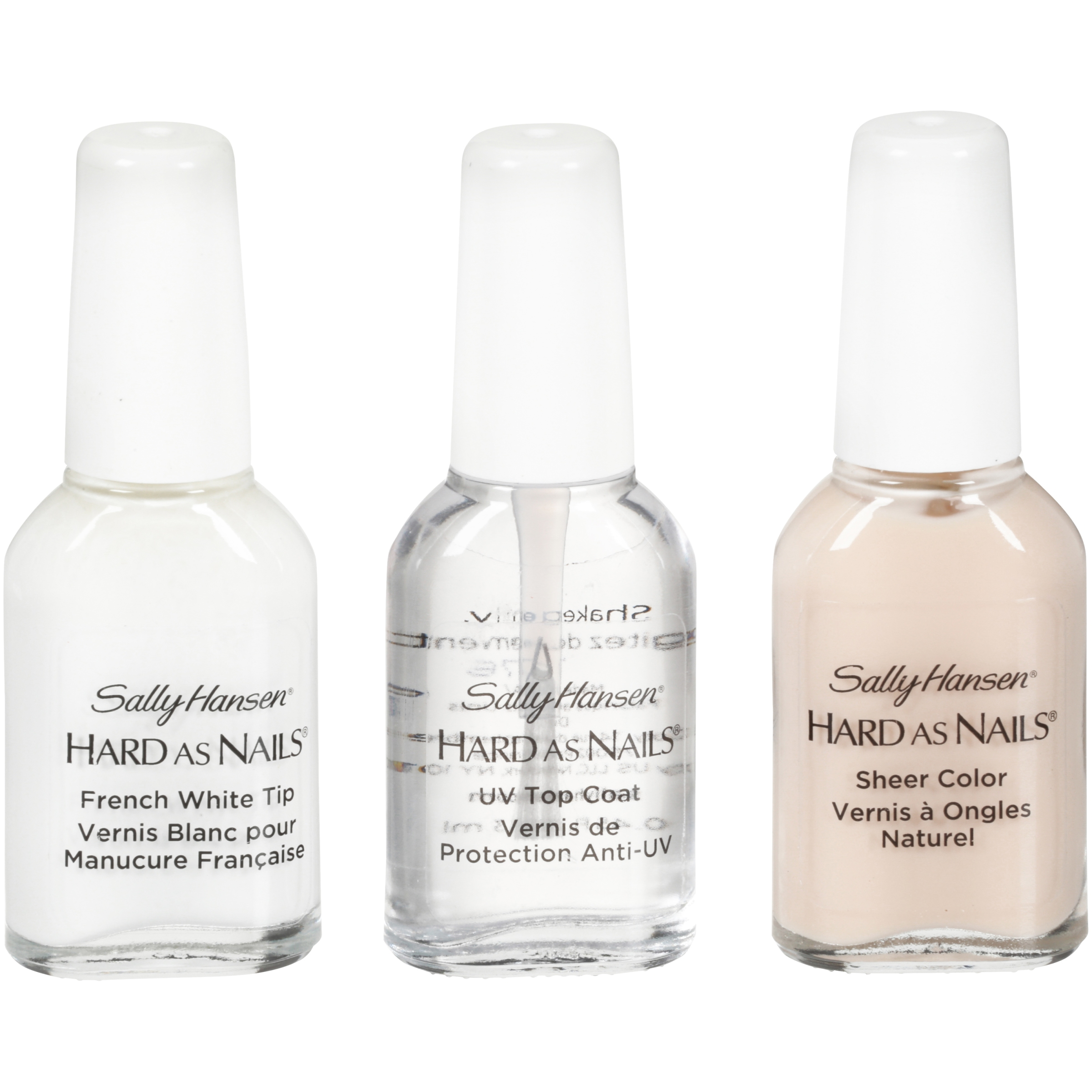 Sally Hansen Hard As Nails Nearly Nude French Manicure Kit
