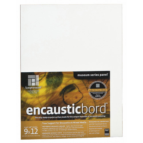 "Ampersand Art - Encausticbord - Uncradled - 1/4"" Profile - 8"" x 8"""