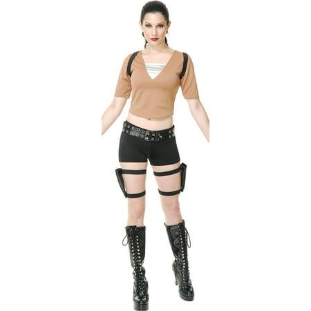 Womens  Tomb Fighter Raider Lara Croft Costume - Halloween Costumes Lara Croft