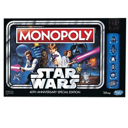 Monopoly Game Star Wars 40th Anniversary Edition