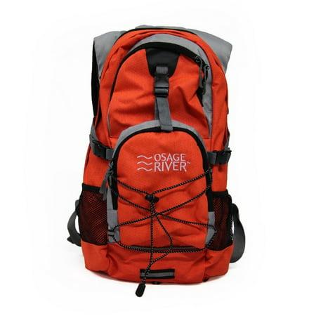 Hydration Pack Backpack (Osage River Drake Hydration Pack - Orange/Gray )