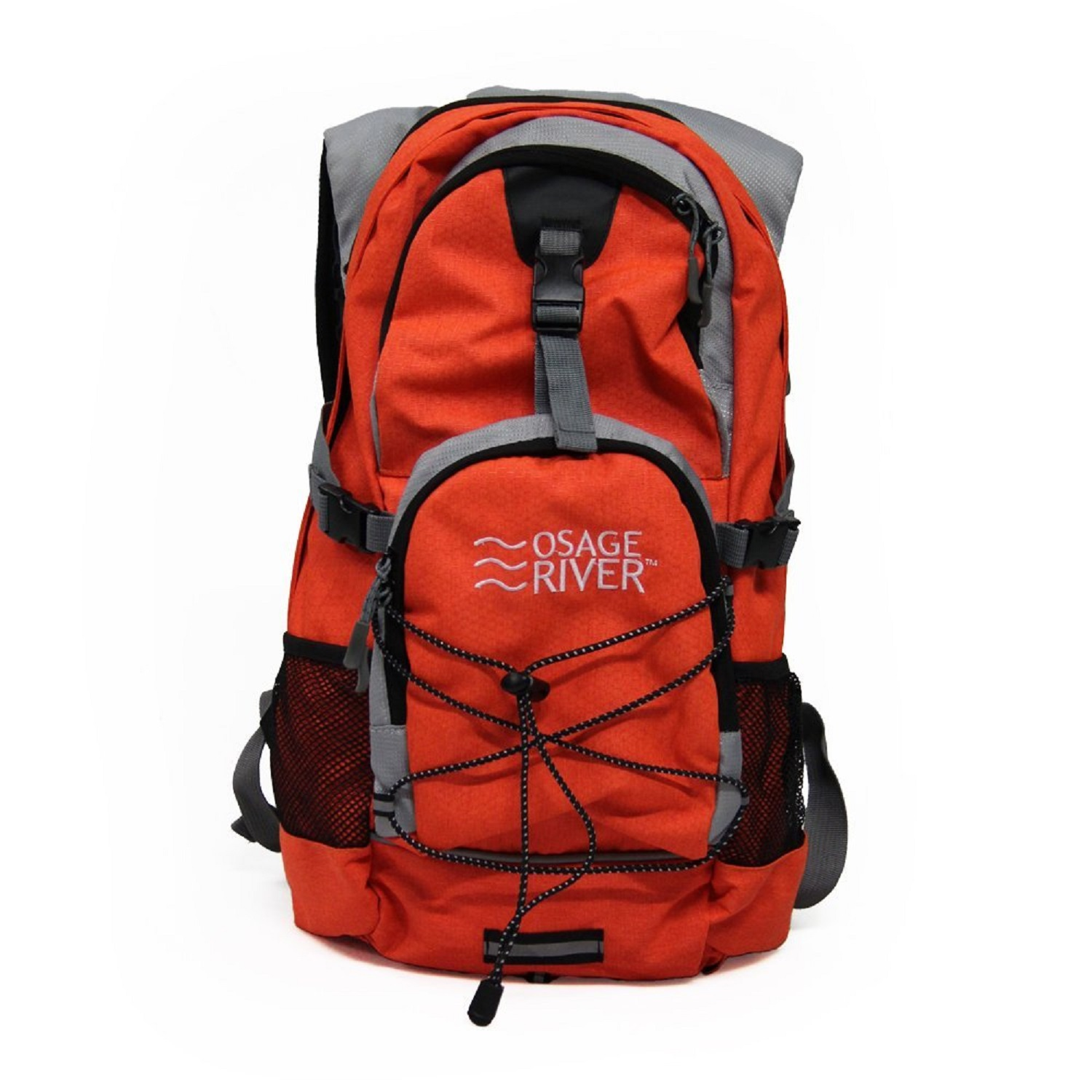 Osage River Drake Hydration Pack - Orange/Gray