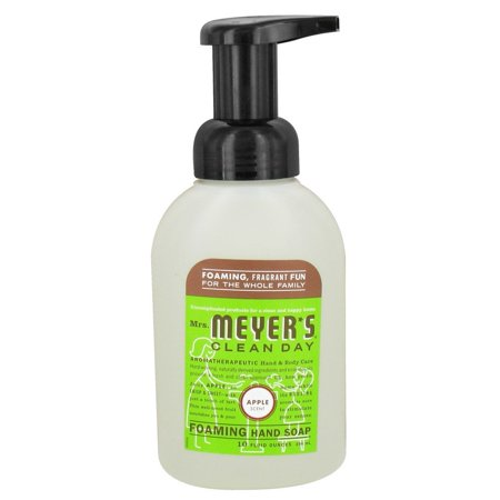 Mrs Meyers Hand Soap  Foaming  Apple Scent