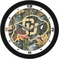 Suntime ST-CO3-COB-CWCLOCK Colorado Buffaloes-Camo Wall Clock
