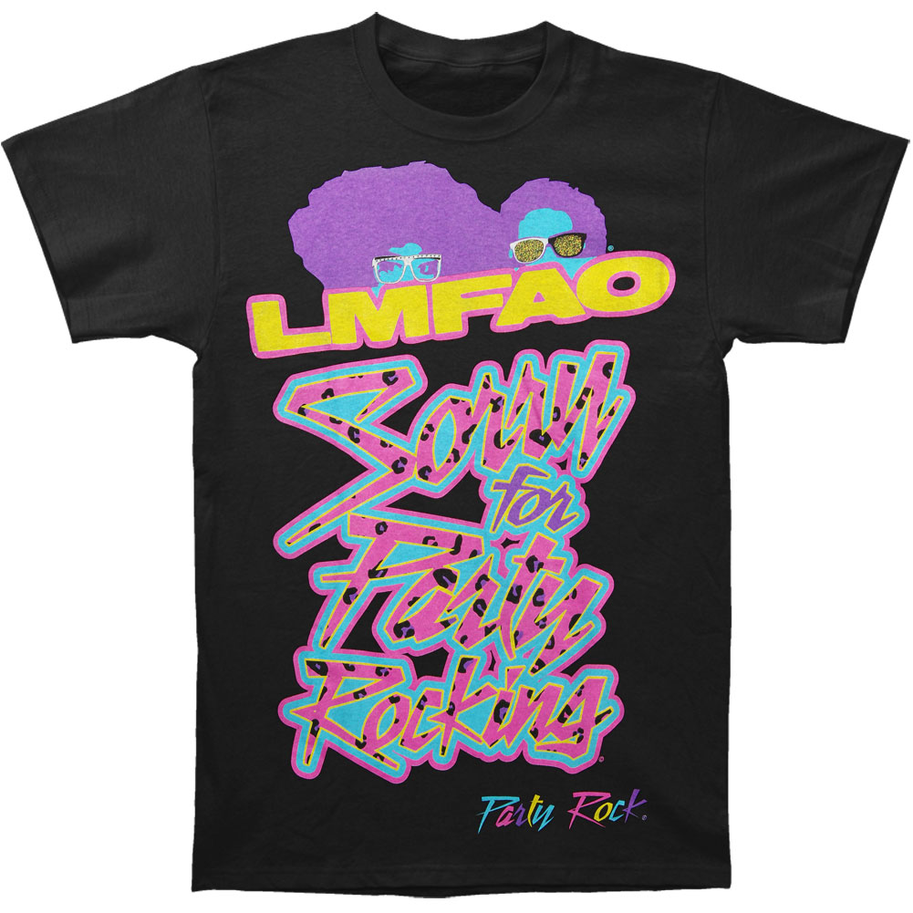 LMFAO Men's  SFPR Tour Slim Fit T-shirt Black