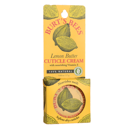 Burt's Bees 100% Natural Lemon Butter Cuticle Cream - 0.6 oz