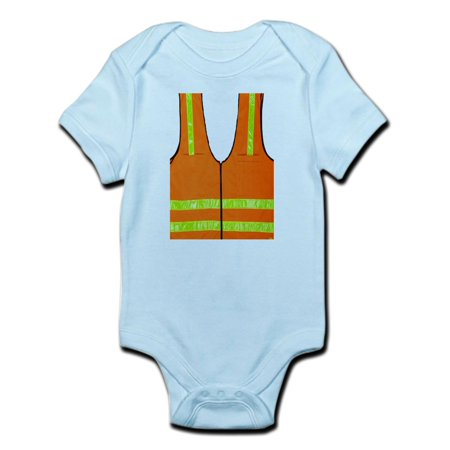 CafePress - Reflective Vest Safety Halloween Costume Security - Baby Light - Halloween Bodysuits