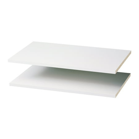 "Easy Track RS1423 24"" Shelves - White (2 Count)"