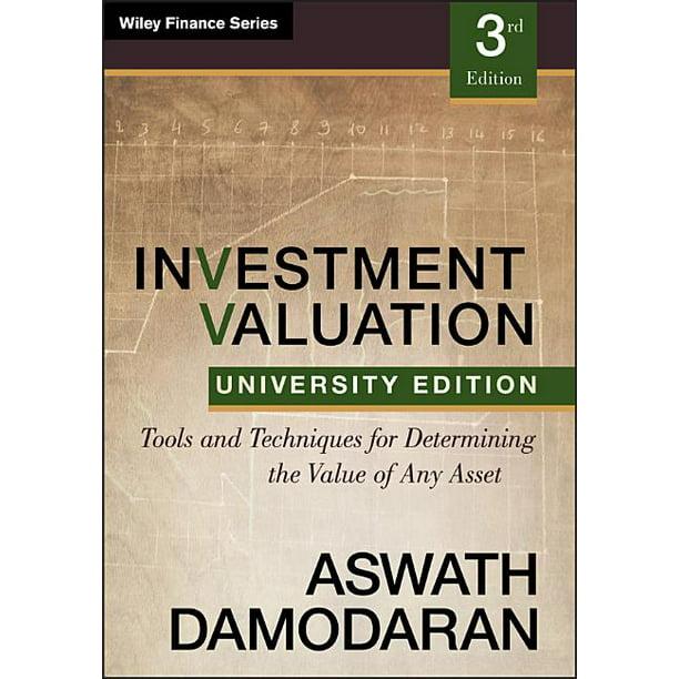 Damodaran investment valuation manuscript paper finnieston street investments