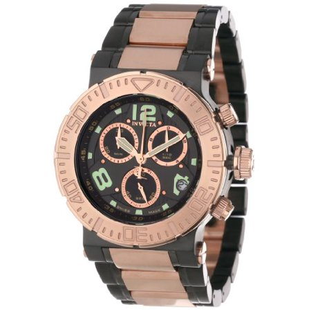Invicta Men's 6763 Reserve Quartz Chronograph Black Dial Watch