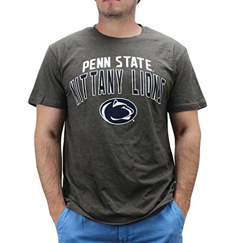 4th and 1 Men's Penn State Nittany Lions T Shirt Grey