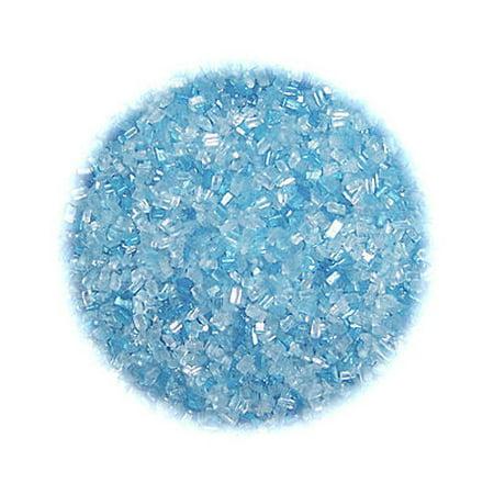Soft Blue Sugar Crystals 4 oz - National Cake Supply Blue Sugar Crystals