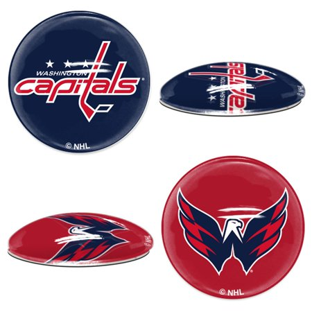 Washington Capitals Official NHL  Sport Dotts Magnet 2 Pack by Wincraft