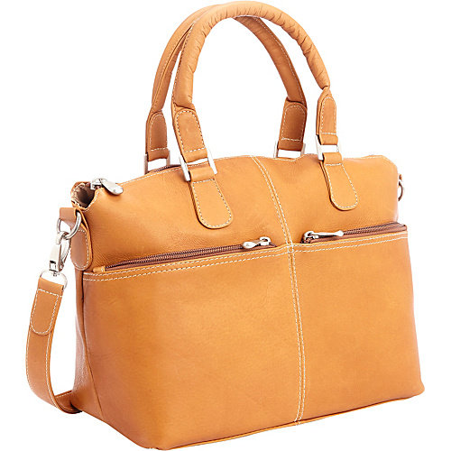 Royce Leather Colombian Leather Weekender Travel Duffel