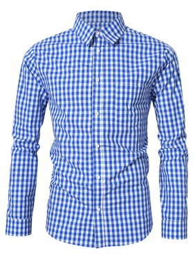 03ce06e0 Product Image Men's Oktoberfest Costumes Long Sleeve Plaid Shirt With Front  Pocket Classical Shirt Tops