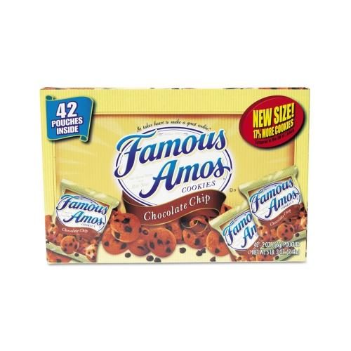 Kellogg's Famous Amos Cookies,  Chocolate Chip KEB827554