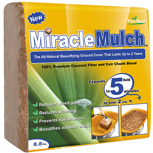 Planters Pride RZP3056 8.8 Lbs Miracle Mulch