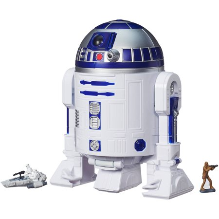 Star Wars The Force Awakens Micro Machines R2-D2 Playset - How Tall Is R2d2