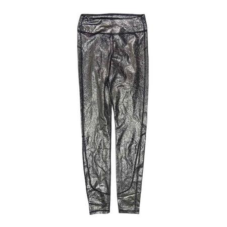 Joe's Women's Mid-rise Metallic Coated Legging Pants (XXS, Gold)
