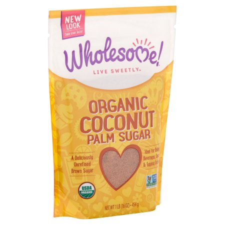 (2 Pack) Wholesome Sweeteners Organic Coconut Sugar, 16 Ounce