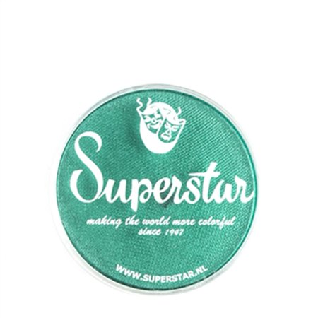 Superstar Face Paint - Peacock shimmer 341 (16 gm) - Peacock Face