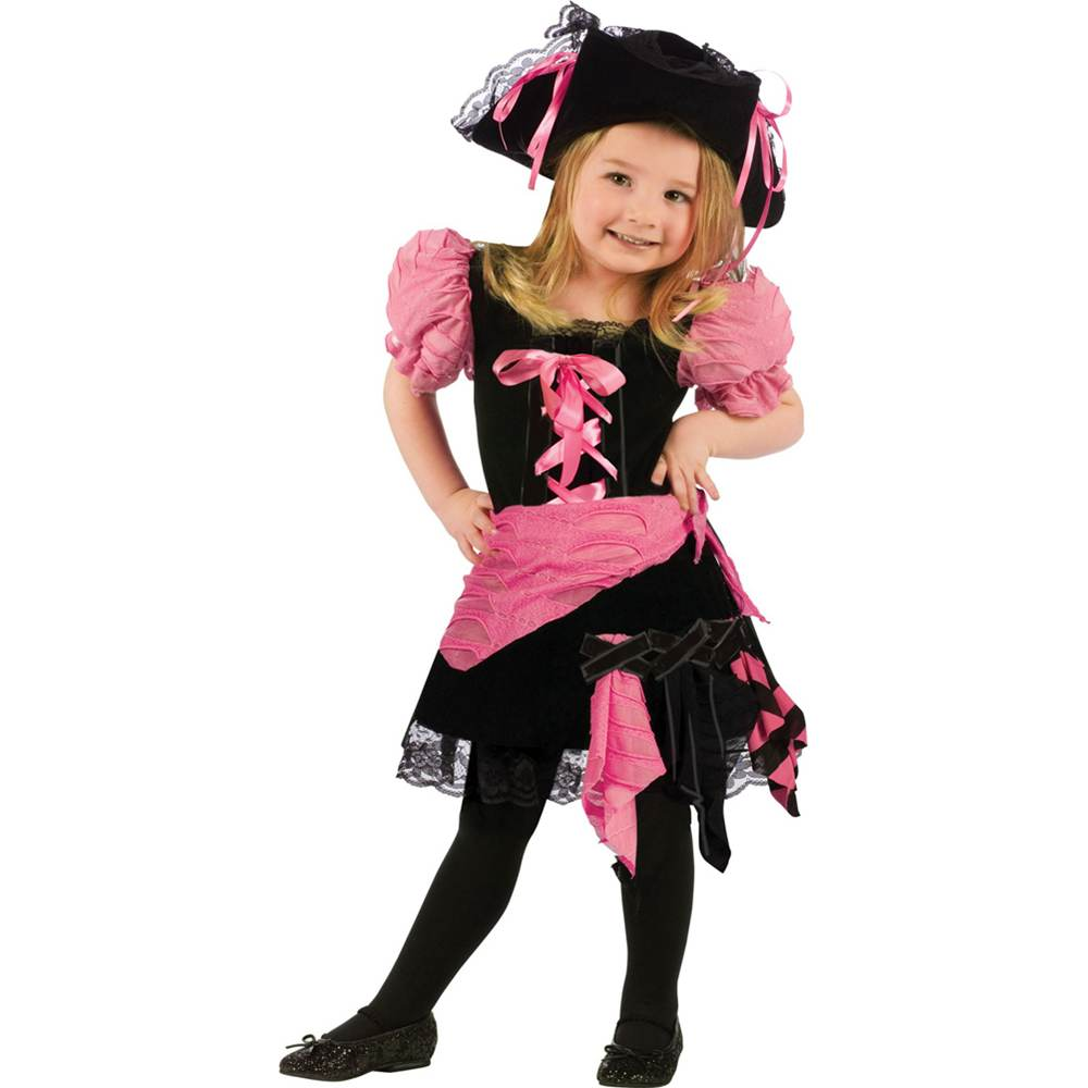 Pink Punk Pirate Toddler Costume  sc 1 st  Walmart & Toddler Pirate Costumes
