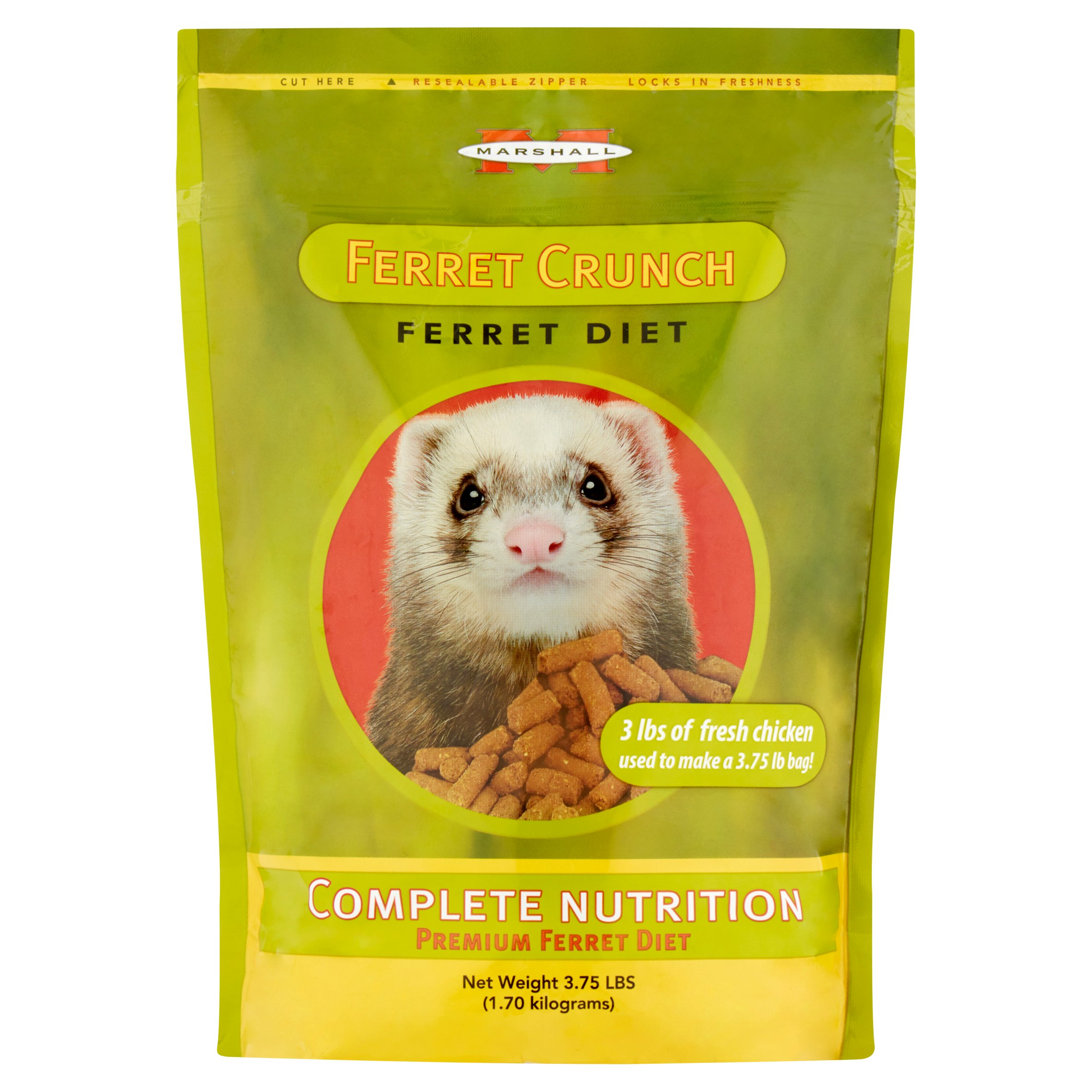 Marshall Ferret Crunch Dry Food, 3.75 lb