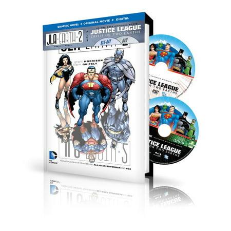 JLA: Earth 2 Book & DVD Set : Plus DC Universe Original Movie Justice League: Crisis on Two