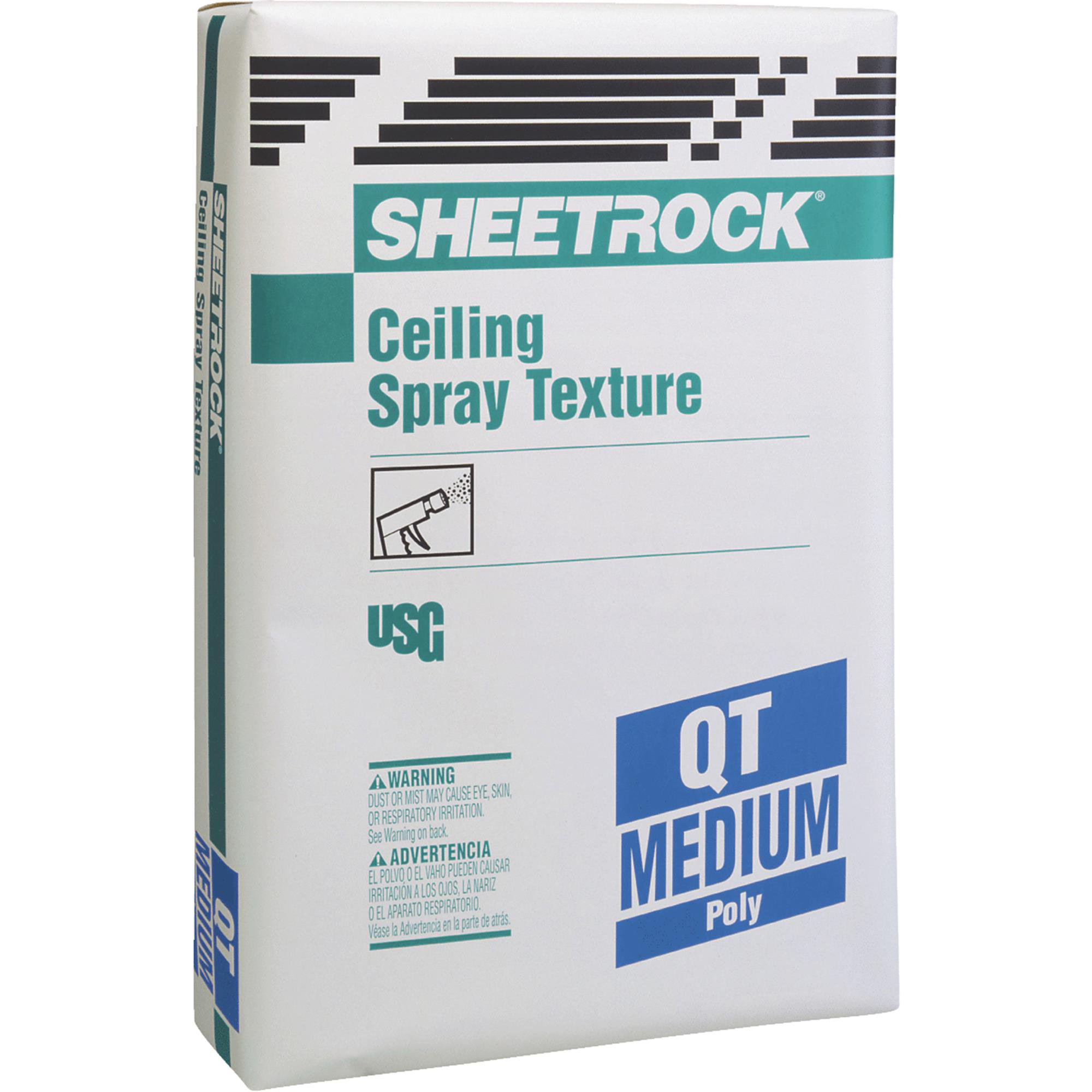 Sheetrock QT Aggregate Ceiling Spray Texture