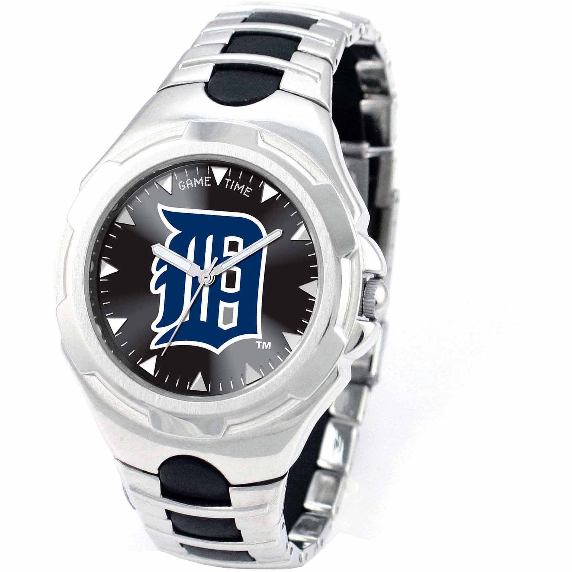 Game Time MLB Men's Detroit Tigers Victory Series Watch