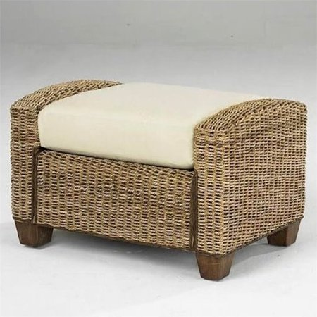 Bowery Hill Ottoman in Honey