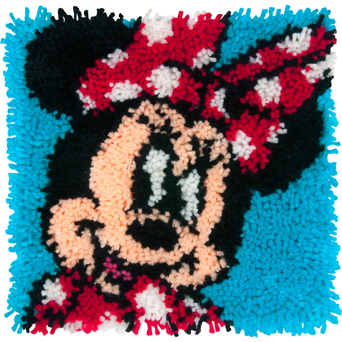 "Dimensions Disney Latch Hook Kit 12""X12"" Minnie Mouse"