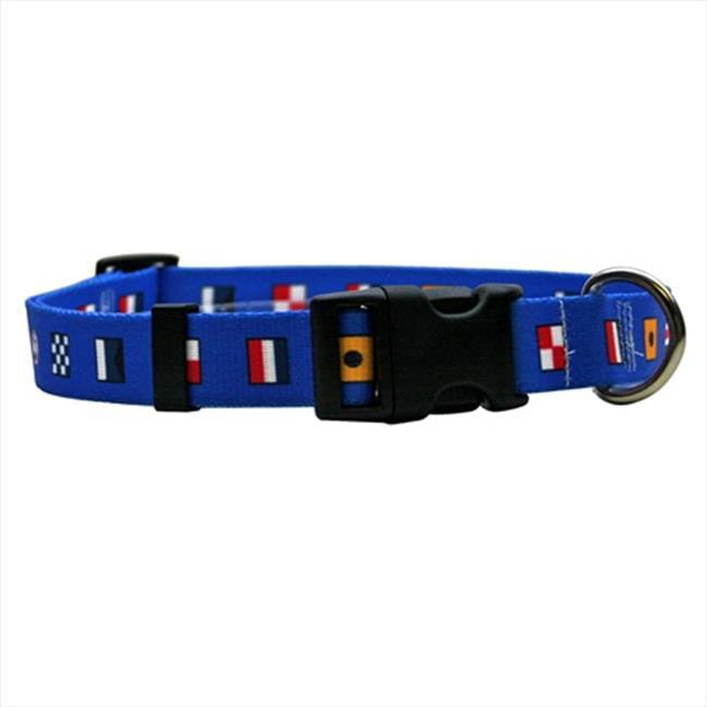 Yellow Dog Design ND101S Nautical Dog Standard Collar - Small
