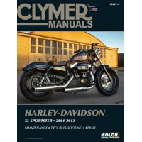 Clymer Manuals: Motorcycle Repair: Harley-Davidson Xl883 Xl1200 Sportster 2004-2013 (Paperback)
