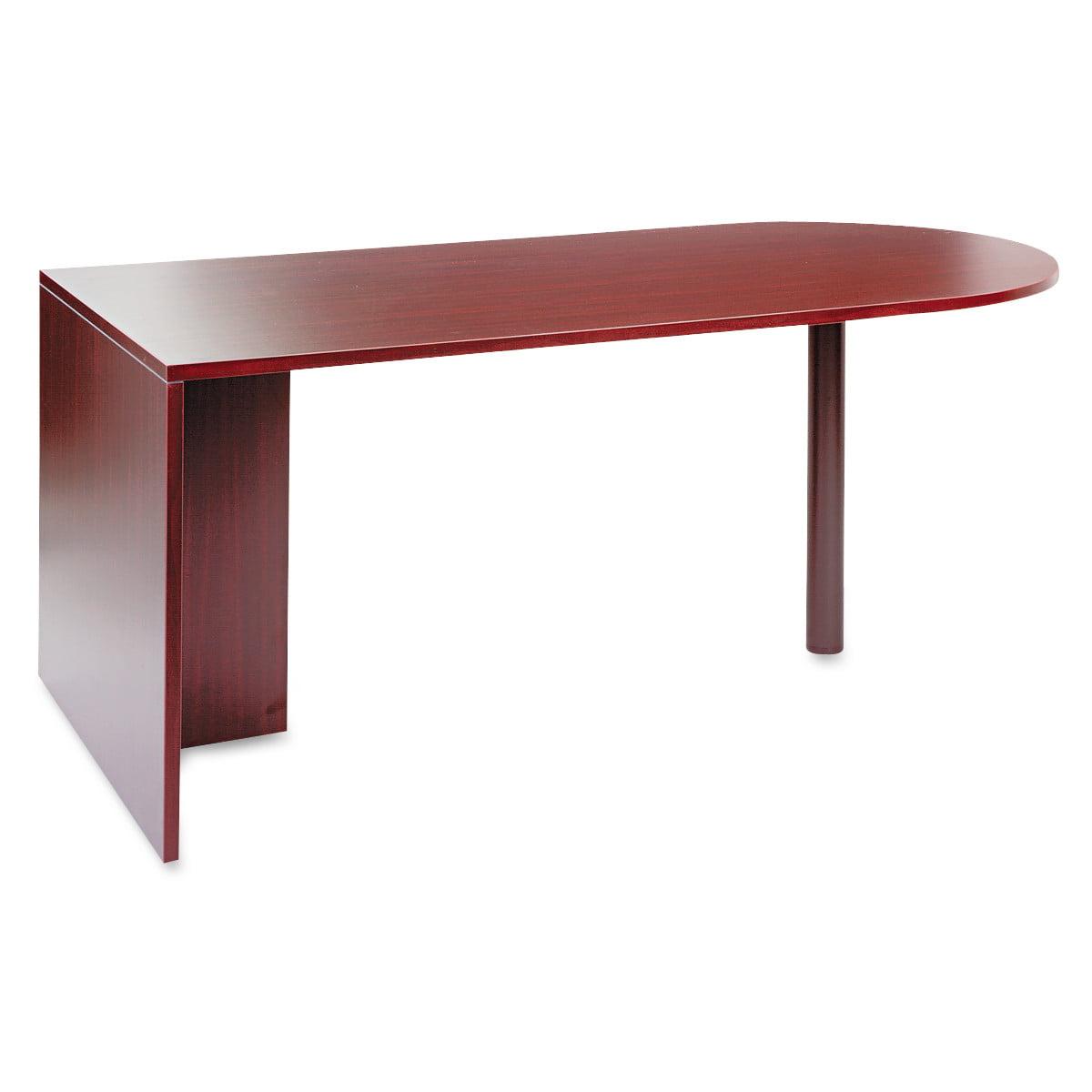 Alera Alera Valencia Series D Top Desk, 71w x 35 1/2d x 29 5/8h, Mahogany
