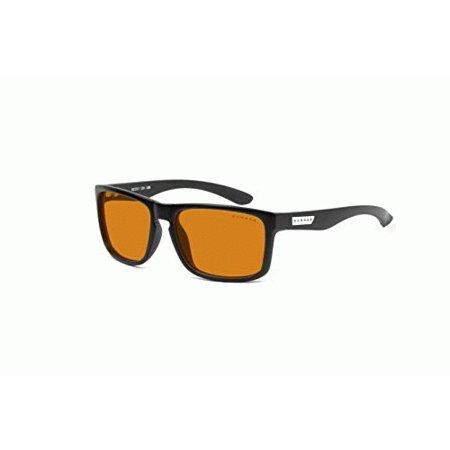 GUNNAR Gaming and Computer Eyewear /Intercept, Amber Max Tint - Patented Lens, Reduce Digital Eye Strain, Block 98% of Harmful Blue (Computer Lenses Review)