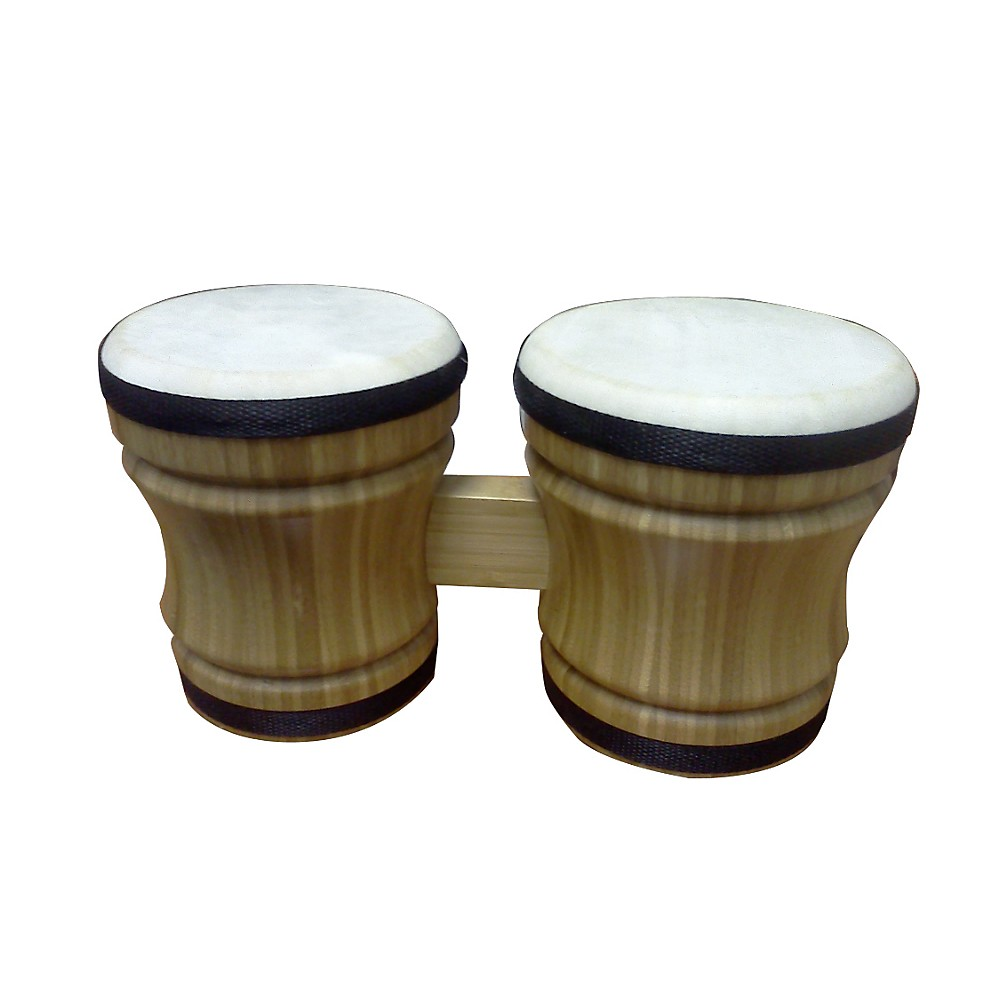Rhythm Band Double Bongo Bamboo by Rhythm Band