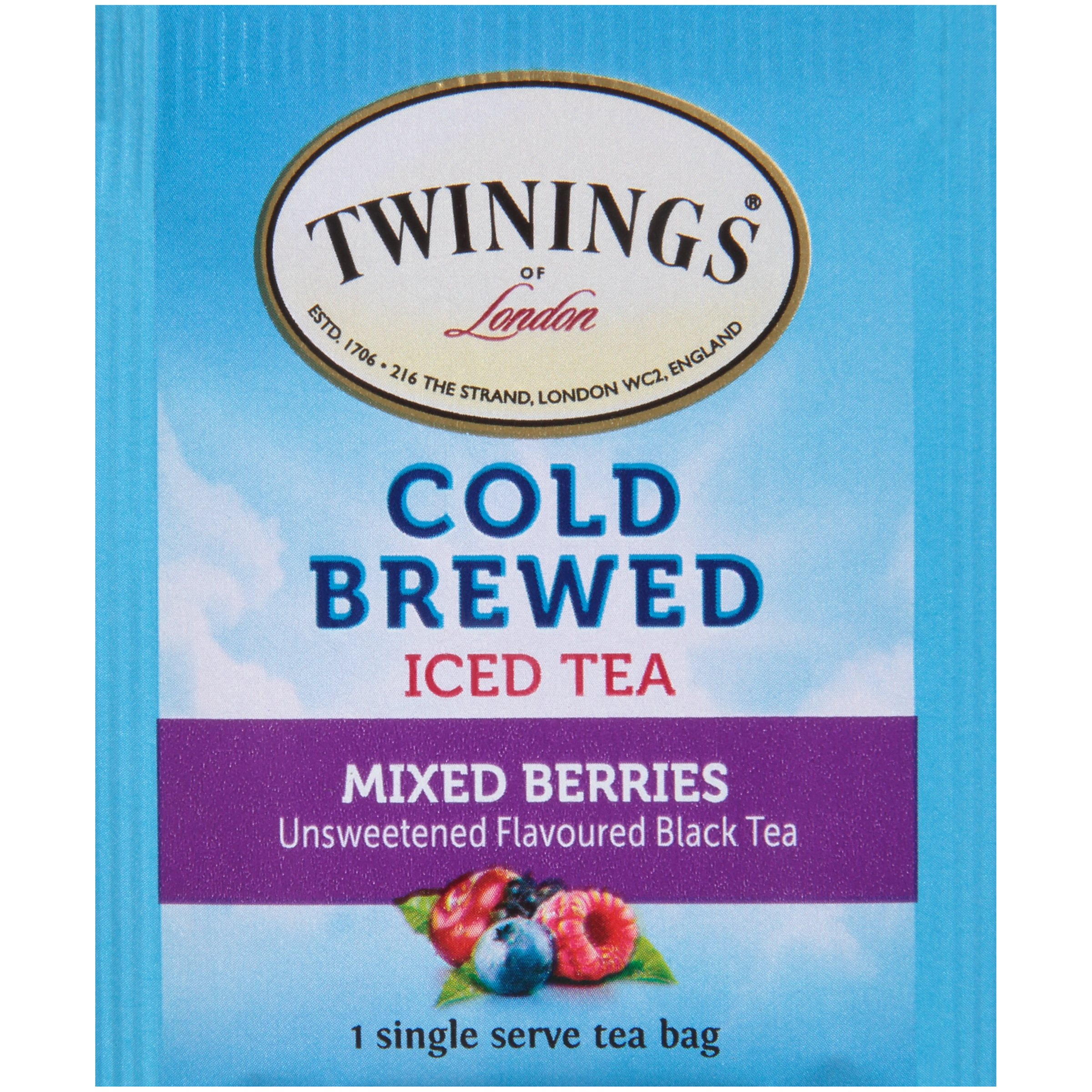 Twinings Of LondonMixed Berries Cold Brewed Iced Tea 20 Ct Bags 1 41 Oz Box